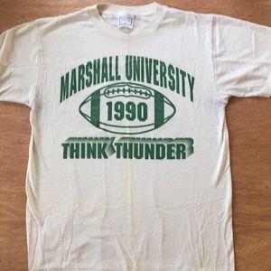 Marshall University vintage tee
